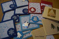 Na vánoční esemesky si moc nepotrpím.Ještě stále ctím tradici vánočních papírových přání.Posíláme rodině i kamaarádům.Vloni už mi je pomáhal napsat Fíla - tiskacím písmem,letos už krasopisným psacím
