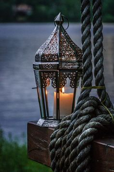 "orchidaorchid: "" Evening lantern by Bassam Sabbagh """
