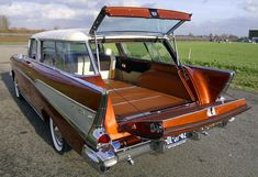 1957 Chevrolet Nomad cargo area 1957 Chevrolet, Car, Automobile, Autos, Cars