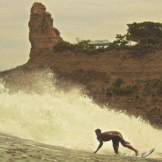 Montañita Ecuador #surfing