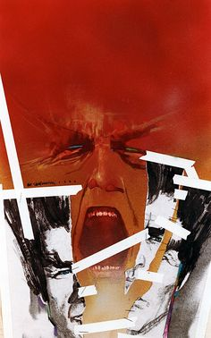 New Mutants cover by Bill Sienkiewicz *