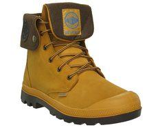Baggy Leather Gusset - AMBER GOLD - Footwear - Men