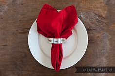 industrial napkin ring... for when I want to spend a crazy $.50 per napkin ring!
