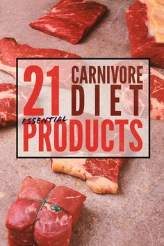 21 Essential Carnivore Diet Products You Need On Your Shopping List Zero Carb Diet, No Carb Diets, Low Carb Recipes, Beef Recipes, Meat Diet, Easy Diets, Diets For Beginners, Proper Diet, Eating Habits