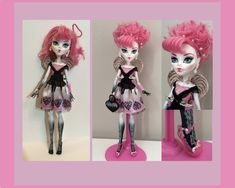 C.A. Cupid MAKEOVER - Quick customising of Monster High dolls - YouTube
