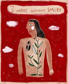 3 setmanes i 2 dies sense fum