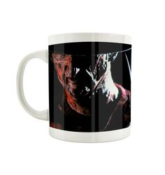 Mug Freddy Krueger Officiel - A Nightmare Freddy Krueger, Boutique, Officiel, Mugs, Clowns, Tableware, France, Horror Makeup, Products