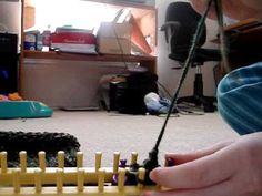 Long Loom Knit Elf Hat 4