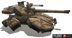 sci fi hover tank - Google Search