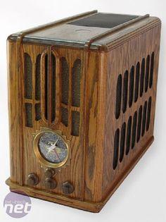 Art Deco Zenith 5-s-29 Radio PC custom Case Mod
