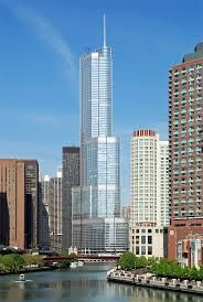 The Trump International Hotel & Tower Chicago is a gorgeous hotel. The sheer size and location of the building are instantly impressive. The hotel is about 2 blocks off Michigan Ave. and right on the river.