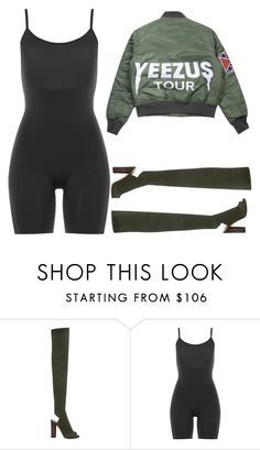 """""""Untitled #558"""" by kylie100 ❤ liked on Polyvore featuring YEEZY Season 2 and SPANX"""