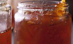Fancy a jar?: Nigel Slater's orange, lemon and ginger marmalade. Photograph: Jonathan Lovekin for the Observer