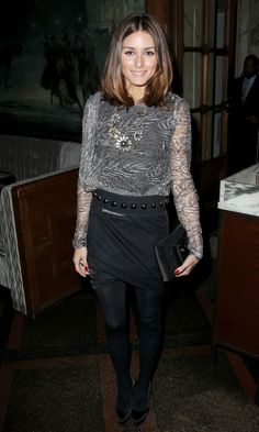 Olivia Palermo the Socialite: Olivia and Johannes - The Premiere Of The Next Three Days