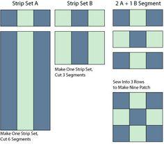 Quilt Block Patterns - © Janet Wickell