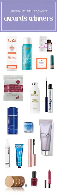 These are the winners of NewBeauty Beauty Choice awards. From hair products to skin care to nail polish to blush, try these items. Beauty Pie, Beauty Hacks, Hair Beauty, Beauty Ideas, Hair Products, Makeup Products, Beauty Products, Body Love, Flawless Skin