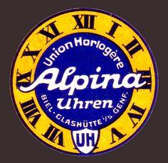 Alpina vintage logo by Alpina Watches, via Flickr