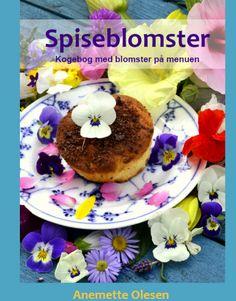spiseblomster forside kogebog med blomster på menuen
