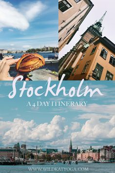 I LOVED Stockholm and here's how I spent my four days here exploring the sights, eating ALL the food and soaking up some Swedish sunshine. #sweden #stockholm #stockholmitinerary World Travel Guide, Europe Travel Guide, Europe Destinations, Travel Guides, One Day Trip, Day Trips, Sweden Cities, Weekend City Breaks, Sweden Travel