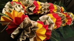 Origami jewelry Money Lei his and her gift birthday gift cash envelop wallet Money Lei, Money Origami, Cash Money, 2nd Anniversary, Anniversary Gifts, Baby Shower Gifts, Baby Gifts, Luvs Diapers, Birthday Gifts