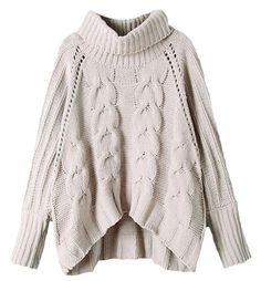 237119a963 Orion Rolled Neck Chunky Cable Knit Jumper at Style Moi. Peter Nguyen