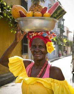 OFF DUTY TRAVEL Dreaming of Cartagena: A Guide to the New Hot Caribbean Destination By DEBORAH DUNN March 27, 2015 3:29 p.m. ET |  A trip to Cartagena, in Colombia, is the ultimate antidote to the been-there-done-that Caribbean vacation. Here's everything you need to know to get in on the action (image: A fruit vendor in Plaza Santo Domingo) #WSJ #Travel #SouthAmerica