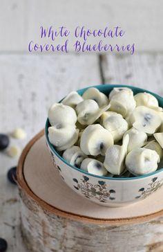 White Chocolate Covered Blueberries | Community Post: 10 Amazing Ways To Enjoy White Chocolate