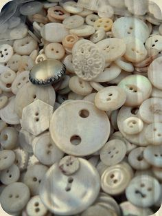 Vintage Mother-of-Pearl buttons