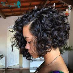 7A Short Human Hair Bob Wigs Glueless Full Lace Human Hair Wigs For Black Women Virgin Brazilian Wavy Front Lace Wigs Bob Wig-in Human Wigs from Health & Beauty on Aliexpress.com | Alibaba Group