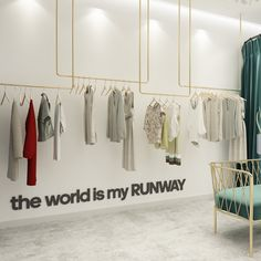 Fashion Wall Art , The world is my runway , Fashion Sign - SKU:RUNY