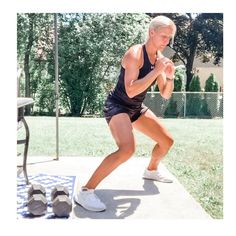"""JESS ALLEN, NSCA-CSCS's Instagram profile post: """"i wish you all could join me for a backyard boot camp! we'd set a high energy tone for the day together👊🏾 . . since we can't all train…"""" Boot Camp, High Energy, Tabata, Wish, Join, Backyard, Profile, Camping, Running"""