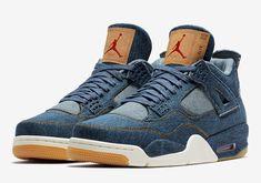 """Air Jordan 4 """"Levi's"""" Official Photos"""