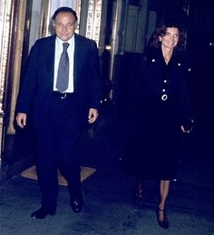 Jacqueline and maurice   Jackie Onassis and Maurice Templesman At La Cote Basque Restau... 3 ...