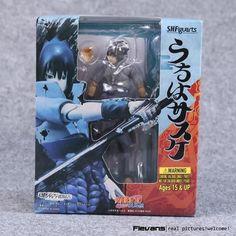 SHFiguarts Naruto Shippuden Uzumaki Naruto / Uchiha Sasuke PVC Action Figure Collectible Model Toy 14cm NTFG090