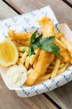 fish and chips - caroline mccredie