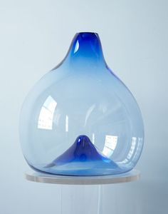 WATER DROP JUG  Materials: Color-infused glass Dimensions: 9 to 18W  Options: Color