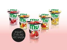 Mu Extra Yoghurts on Packaging of the World - Creative Package Design Gallery