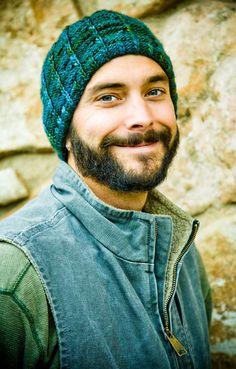 Men's Hat Knitting Patternby Woolibear on Etsy