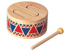 Wooden toy drum $35.00