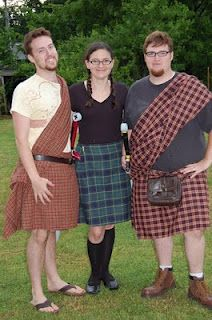 Easy Kilt Pattern  I just made this version and it was easy and produced the look I wanted w/about 4 yards of fabric