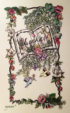 Lenka 雑貨屋さんのオーダー作品 の画像|小娘の切り絵制作日記