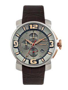 Buy ITA Men Metallic Grey Dial Chronograph Watch - 361 - Accessories for Men - 279518