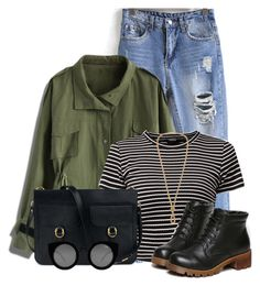 """""""Untitled #344"""" by seahag2903 ❤ liked on Polyvore featuring mode, Chicwish et Quay"""
