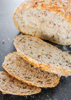 pain blé et lin