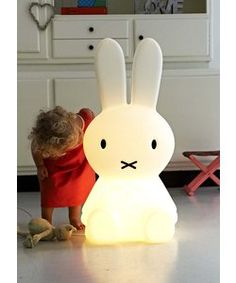 Extra large Miffy lamp - coming in July always had a soft spot for the old Mitts