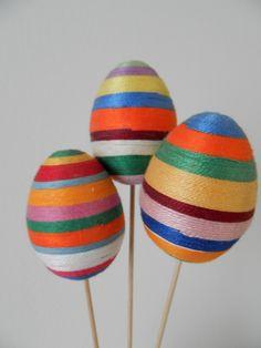 Bavlnková+vajíčka+Ručně+vyráběná+bavlnková+vajíčka+na+špejli