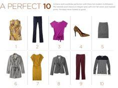 {The Classy Woman} Fashion Friday: A Perfect Ten-Work wardrobe essentials