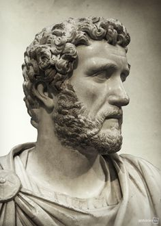 Emperor Antoninus Pius,  about AD 140, Cyrene, North Africa  British Museum, London