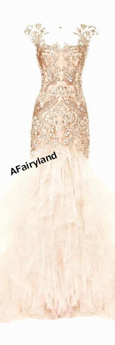 Chiffon bridesmaid dress party dress, blush pink, blush peach, full-length, prom dress, full lace applique dress on Etsy, $139.00