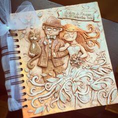 Café Croquis - Handmade DIY personalized Wedding book